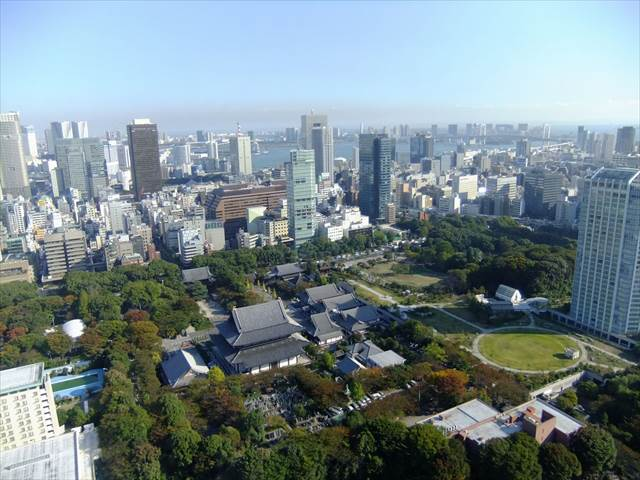 Japanesquest | The view from Tokyo Tower observatory