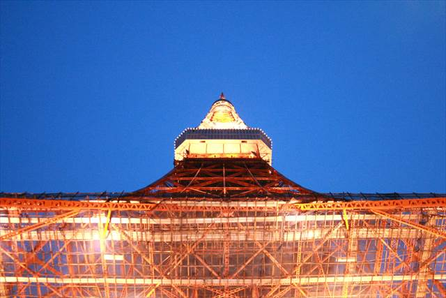 Japanesquest-Tokyo tower. remarkable architecture.