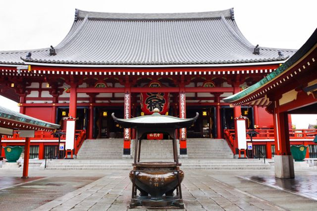 Sensoji temple - The oldest Buddhist temple in Tokyo