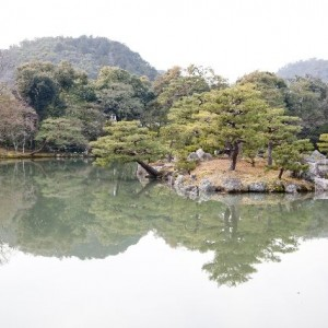 Kyokochi pond at Kinkakuji | Japanesquest