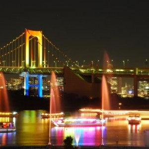 Rainbow Bridge at Odaiba District | Japanesquest