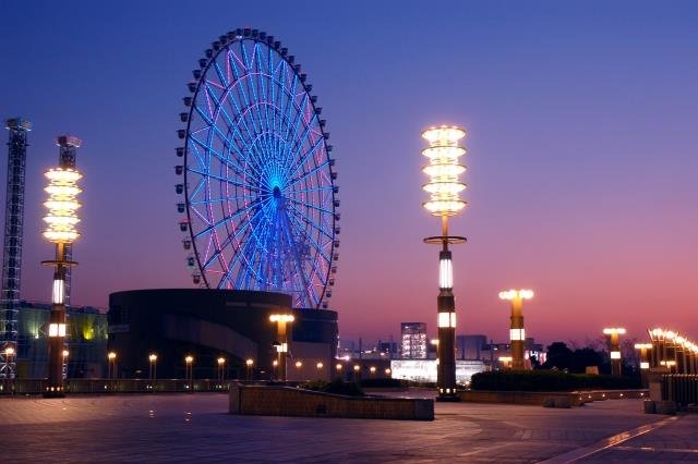 The Grand Ferris wheel in Odaiba District | Japanesquest