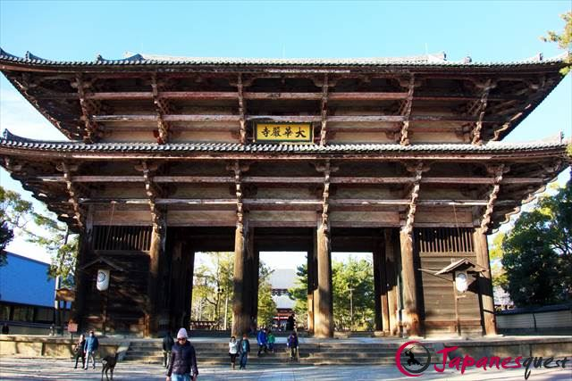 Nandaimon Gate in Todaiji Temple | Japanesquest
