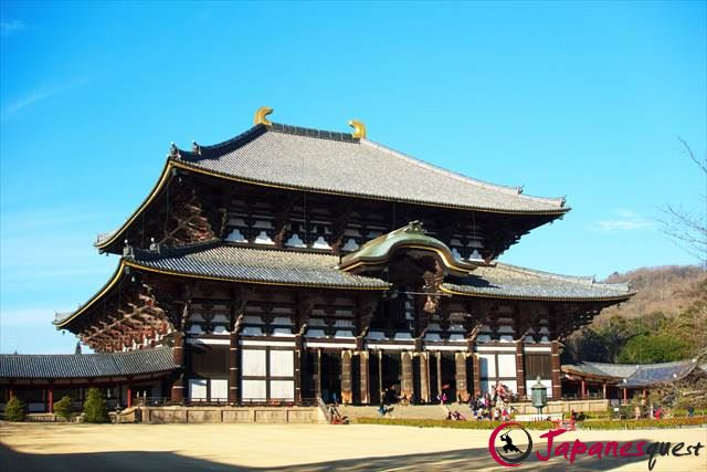Daubutsuden Hall  in Todaiji Temple | Japanesquest