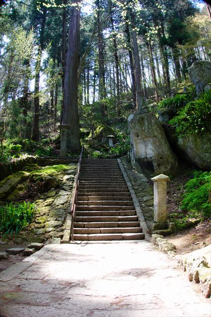 1015 stone steps at Yamadera Temple | Japanesquest