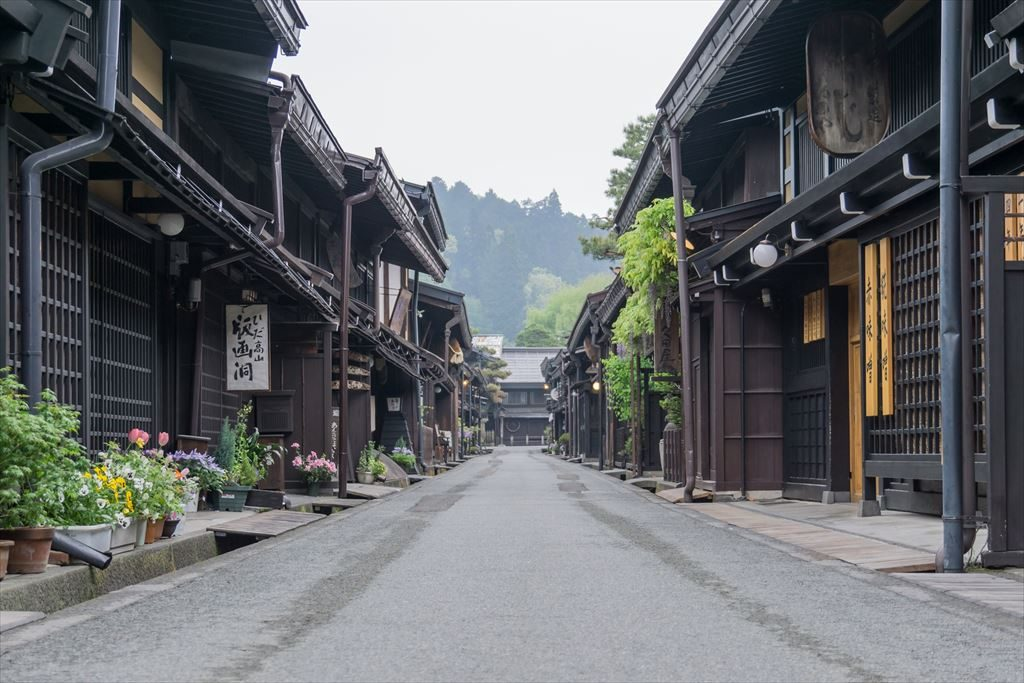 The Old Town in Takayama