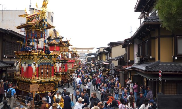 Autumn Takayama Festival in October 9th-10th